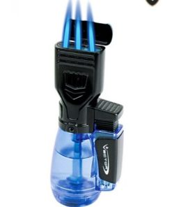 Drone 3-Torch lighter blue finish image.