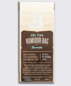 Boveda 1 year humidor bag small